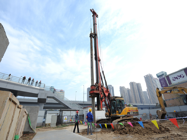 [西安]车站主体结构基坑支护及开挖安全专项施工方案