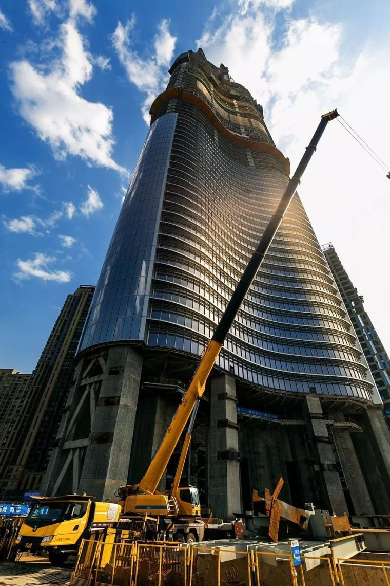 中国高度,建世界第二高楼,636米125层今年竣工!_16