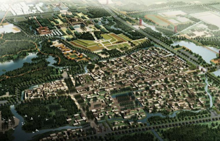 [山东]羊山古镇国际旅游度假区规划设计