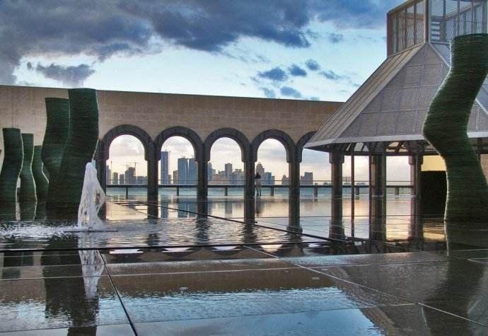 透过伊斯兰艺术博物馆看自然光在空间设计中的运用