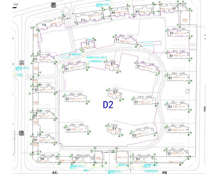 海湖新区电力住宅小区电气设计图纸大全(含住宅部分与商铺部分)_8