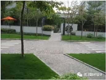 万科住宅内的道路设计,标准和施工做法,都是经验呀!!_67
