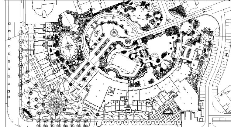[浙江]中海怡美山庄景观设计全套施工图(包含CAD+74个)