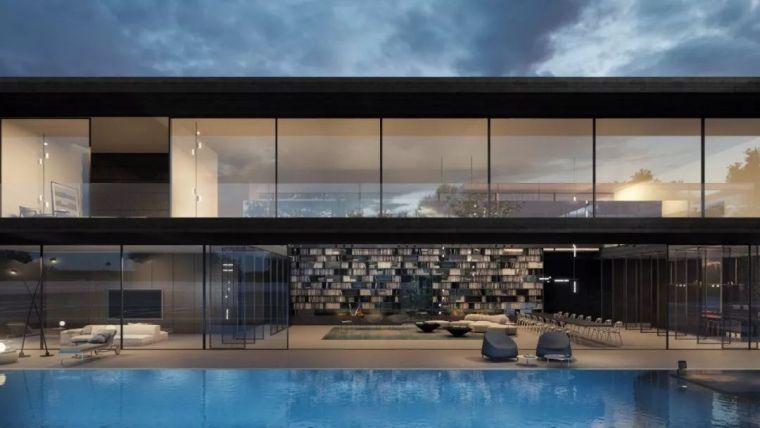 1500m²大别墅,极简大师这样打造,美竟如此纯粹!_78