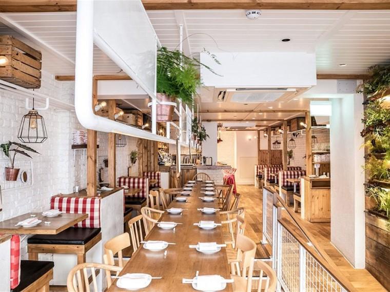 伦敦RedFarm非传统中餐厅