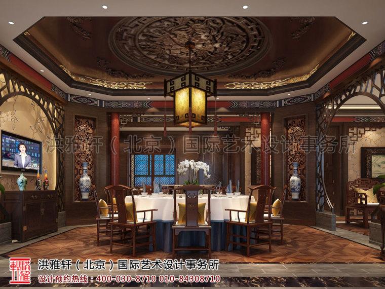 北京古典中式装修茶楼会所奢华的古典音符_4