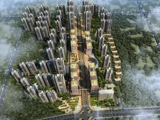 [武汉]新艺术都市花园式住宅景观设计方案
