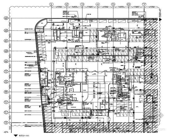 [广东]13万商业建筑给排水施工图纸(气体灭火系统 报警阀)