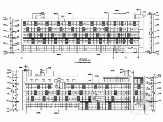 [江苏]五层框架结构医疗产业园标准厂房结构施工图(含建筑图)