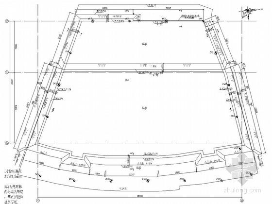 [广东]7米深基坑土钉墙支护施工图(附基坑计算书)
