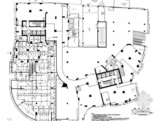 [江西]30万平超高层住宅楼给排水消防施工图(甲级设计院 S型气溶胶灭火系统)