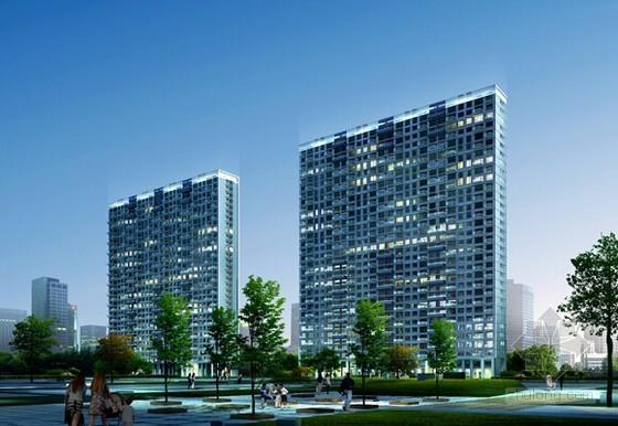 [毕业设计]26层框剪结构住宅楼(地下室)建筑工程投标文件编制实例(图纸)