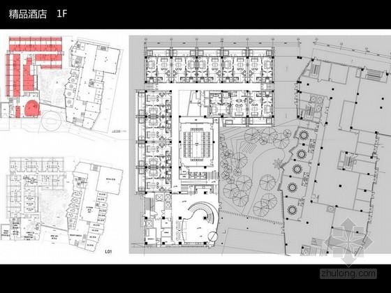 [天津]现代高档精品酒店室内设计方案图