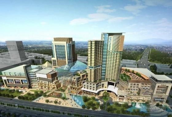 [天津]商业综合体建筑设计效果图(知名设计)