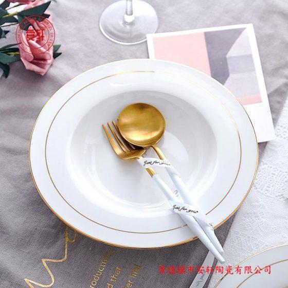 春节福利礼品骨瓷餐具碗盘