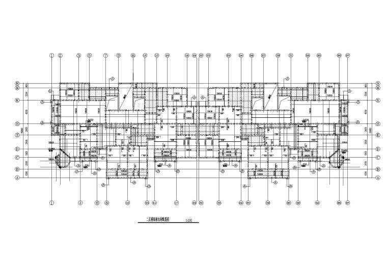 [分享]地下室平面图cad资料下载图片