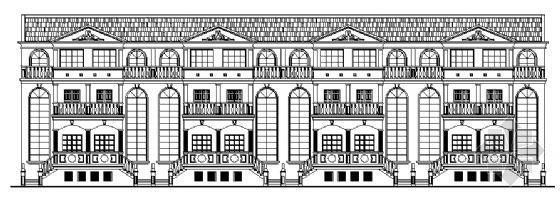 一套完整的村民安置住宅建筑施工图