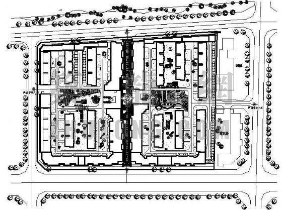 某生态小区规划设计资料下载-某组团小区规划设计
