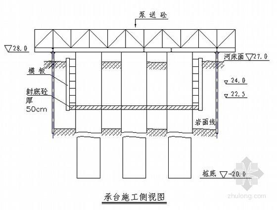 桥梁大型承台施工方案图