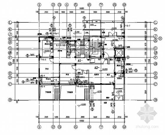 某多层住宅楼给排水、天燃气设计施工图