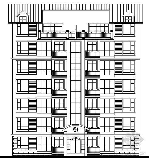 [江西]某房地产高档住宅小区建筑设计方案文本