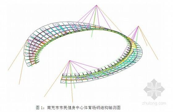 [四川]体育场钢管桁架结构屋面施工方案