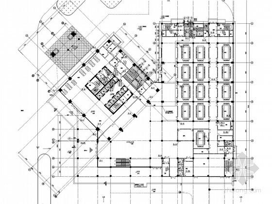 [湖北]高层五星级酒店及办公楼给排水消防施工图(连廊 气体灭火 中水 大空间智能灭火)