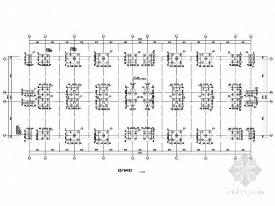 [湖南]六层框架结构职院宿舍楼结构施工图