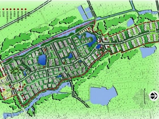 [南京]寄情山水间悠闲乡村景观规划设计方案