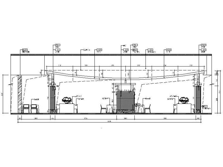 [北京]优雅唯美云南特色餐厅室内设计施工图(含效果图)_5