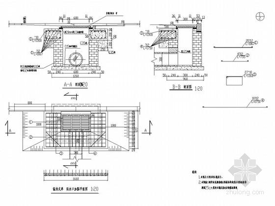 [安徽]市政道路雨污水排水工程施工图设计24张