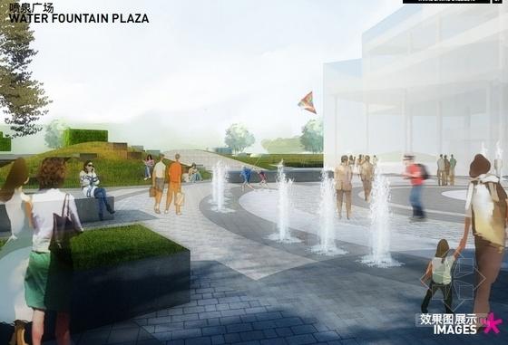 一大波儿不加班的秘方,向你丢过来~-[北京]知名地产体验中心景观设计效果图