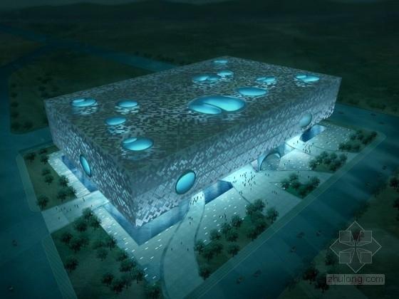 [北京]某科学技术馆设计方案文本(含CAD、动画)