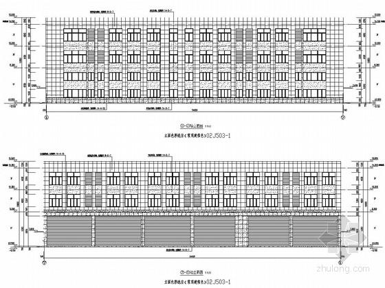 三层框架结构客运中心维修用房结构施工图(含建筑图)
