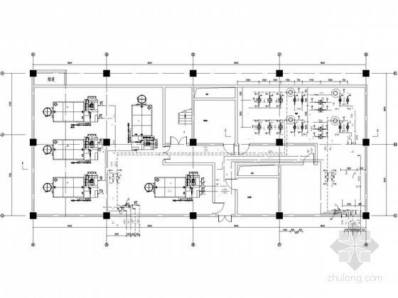 uasb工艺设计计算资料下载-某锅炉房工艺设计图纸