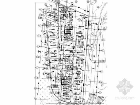 VAV空调设计图纸资料下载-[北京]某酒店空调通风初步设计图纸