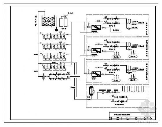 锅炉采暖热水系统原理图