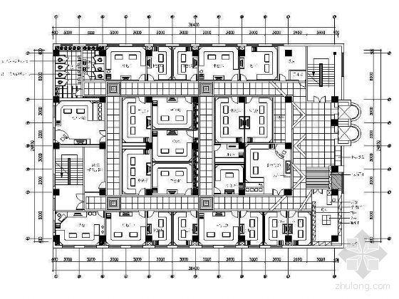 KTV空间平面设计图