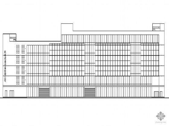 [温州]某甲级设计院设计六层设备厂办公综合楼建筑方案套图