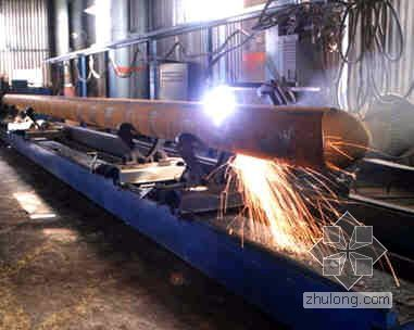 郑州某工业厂房钢结构工程施工组织设计(门式刚架 图文并茂)