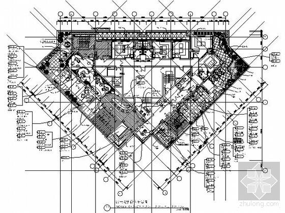[成都]900平米高档休闲会所施工图