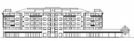 杭州清水湾某住宅11号楼建筑方案图