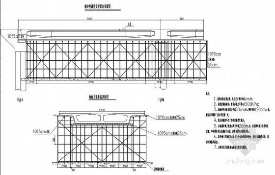 兴桂高速分离式立体交叉现浇箱梁支架结构计算书