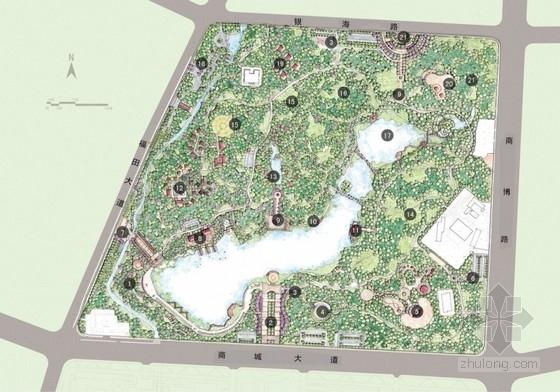[义乌]综合公园改造修建性详细规划概念方案