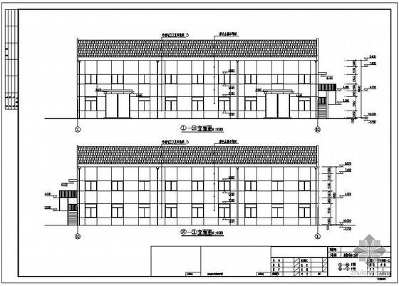 常州某厂房建筑结构设计图(含PKPM计算模型)