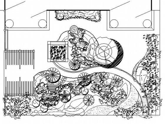 某别墅庭院景观工程施工图