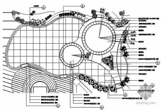 杭州广场景观施工图