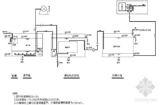 膜生物反应器设计图纸