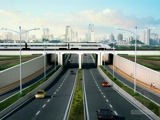 市政道路下穿框架桥专项施工方案(50页)