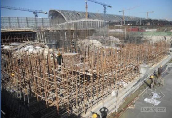 [创新QC]混凝土框架结构盖挖逆作结构顶板施工